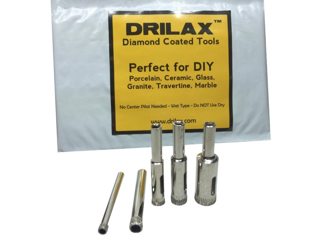 Drilling Glass Blocks Or Bottles Drilax Tools And